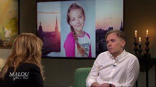 11-åriga Ebbas pappa om sorgen efter sitt enda barn: