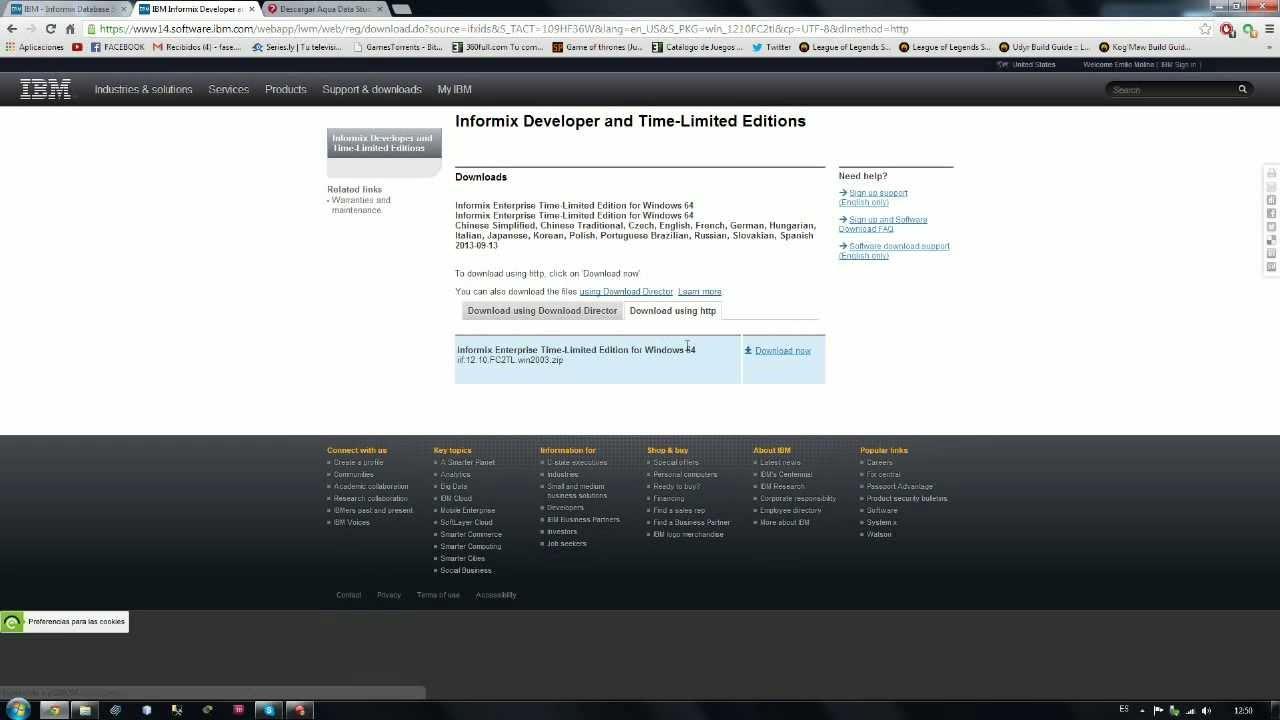 Instalación de IBM Informix en Windows
