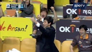 [프로배구] 송명근의 서브에이스! 팀 최다 연승 8연승 기록하는 OK저축은행! (02.05)