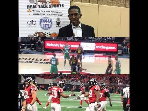 Real Talk Sports Radio Show 11-21-17  - Are the Atlanta Falcons Back onTrack?