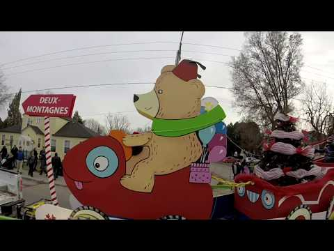 Deux Montagnes 48th Annual Santa Claus Parade 2017
