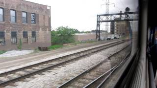 Amtrak #331 Hiawatha Service ride from Chicago to Milwaukee