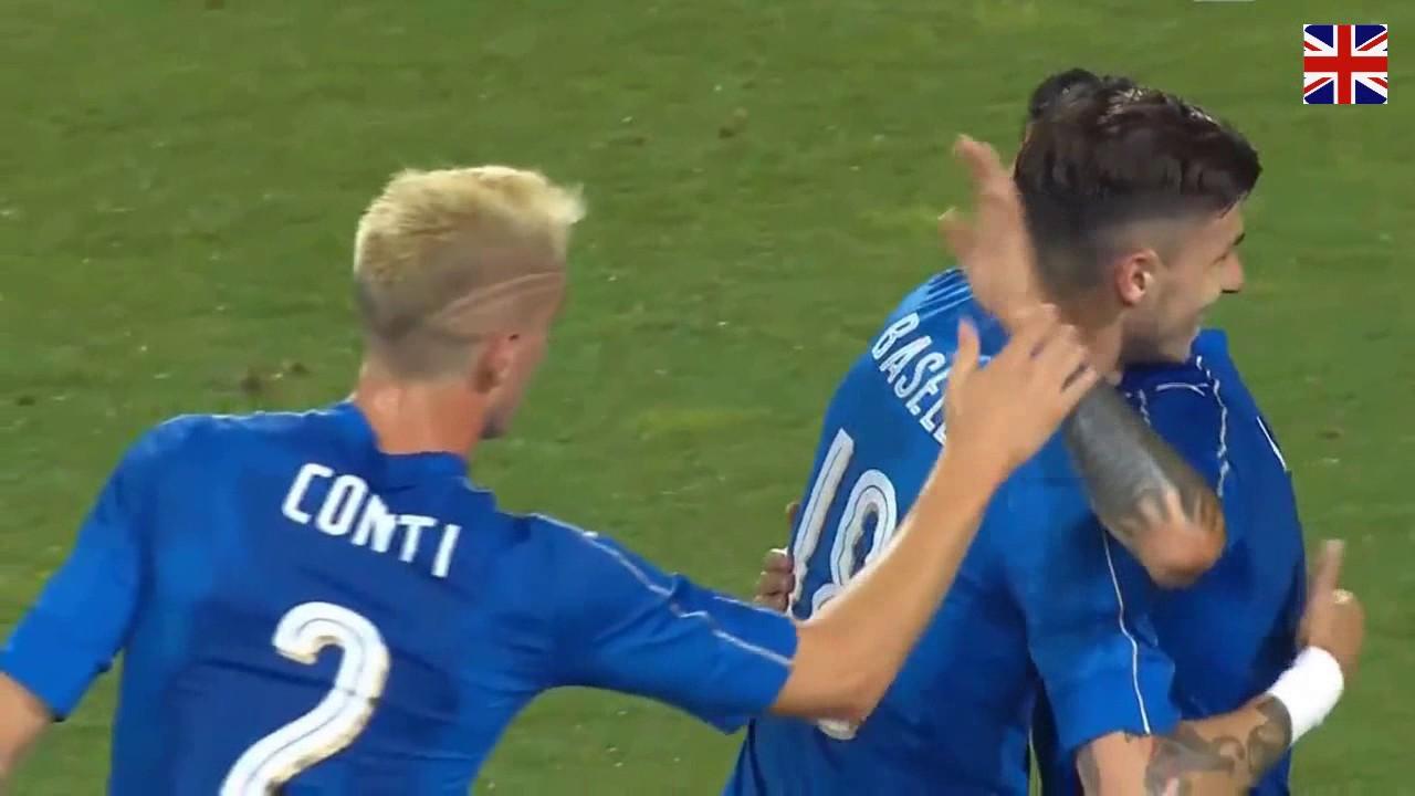 Италия - Сан-Марино 8:0 видео