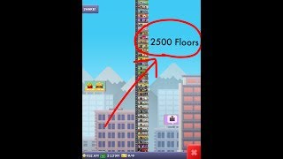 Tallest Tiny Tower 2700 FLOORS! (New World Record 2018)