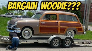 homepage tile video photo for The First Adventure With My Woodie FAILED: 1951 Ford Country Squire New Project!