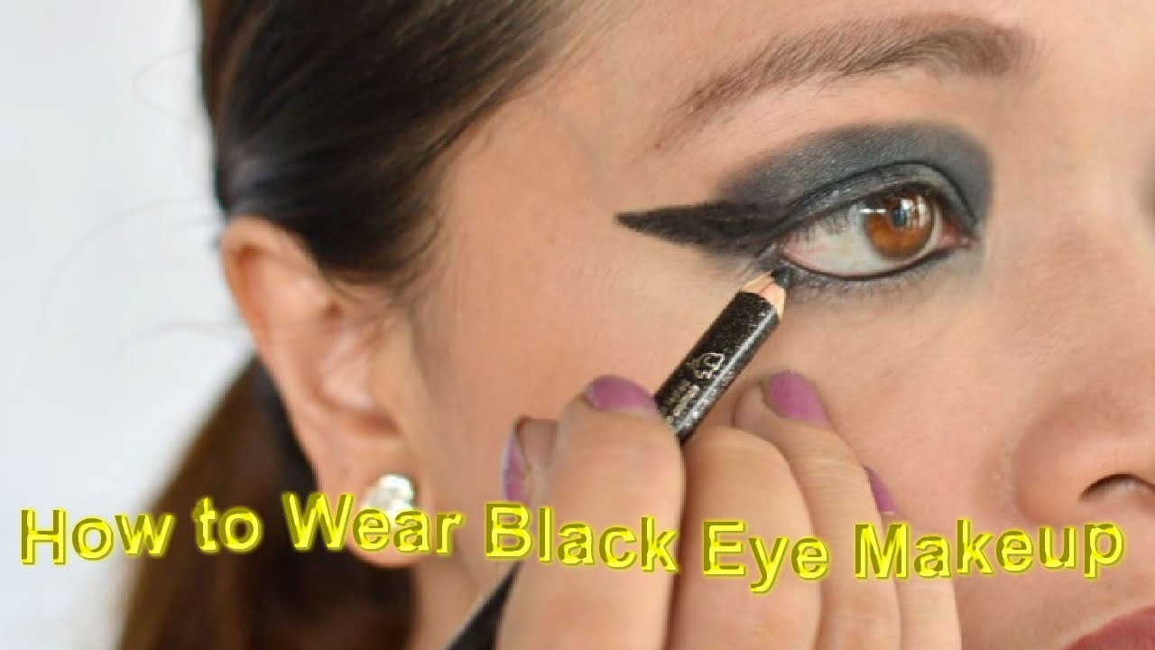 smokey eyes makeup|How to Wear Black Eye Makeup - YouTube