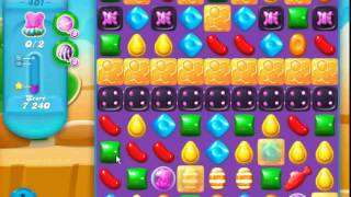 Candy Crush Soda Saga - level 401 (No boosters)