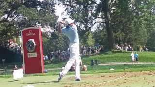 Rickie Fowler 2013 PGA Championship Range Work Swingvision Slow Motion 60fps