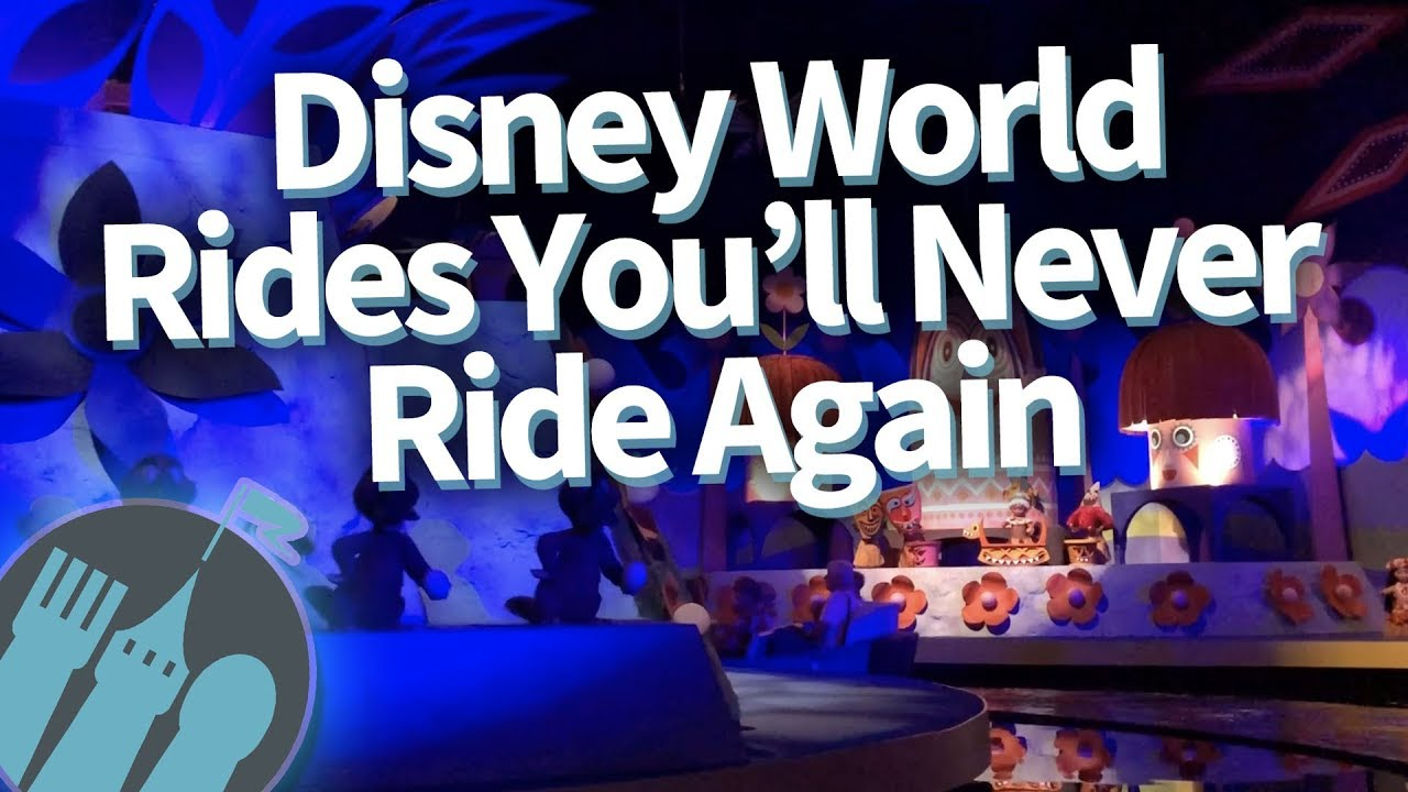 Disney World Rides You'll Never Ride Again
