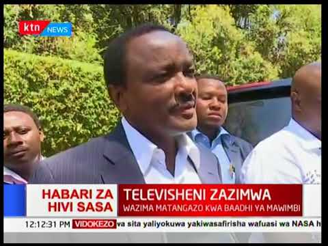 Kalonzo Musyoka: Our security detail has been taken away