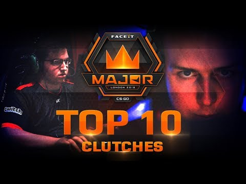 TOP 10 Clutches of FACEIT London Major