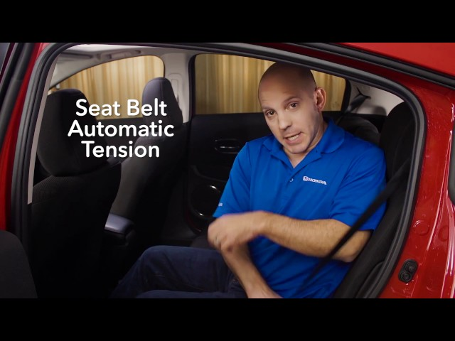 2017 Honda HR-V Tips & Tricks: Seat Belt Automatic Tension