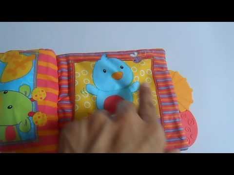 Bright Starts Teether Book Play with Me / www.folk-ferrari.pantown.com