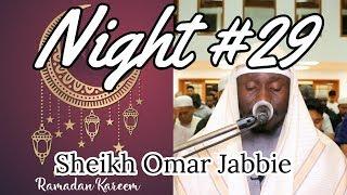 Night #29 Ramadan 2019 Tarawih | Soninke Style Juz' Amma | Sheikh Omar Jabbie