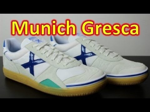 reputable site 42afc 96b58 MUNICH Gresca Futsal Indoor - Unboxing + On Feet - YouTube