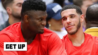 The Pelicans should load manage Zion for the rest of his rookie season - Jay Williams | Get Up