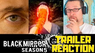 Black Mirror: Season 5 | Netflix Trailer Reaction
