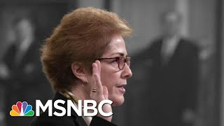 New Details Emerge After Marathon Impeachment Testimony | The 11th Hour | MSNBC