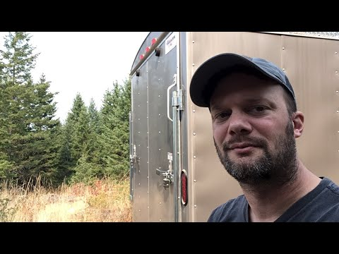 Live off grid cabin vlog 2