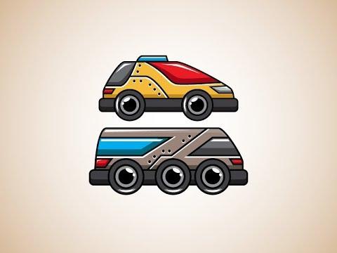 2d free vehicle game asset