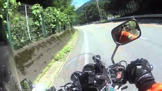 休日にバイクツーリングで道の駅アルプ飛騨古川まで予告編