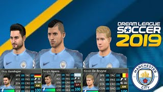 How To Back  Manchester City Logo Kits Team All100 Player 2019/ Dream League Soccer 2019