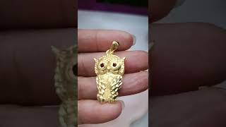 순금부엉이메달