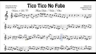 Tico Tico Partitura Fácil De Flauta Tico Tico No Fuba