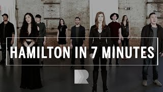 Download Hamilton [in 7 minutes] - RANGE a cappella MP3 song and Music Video