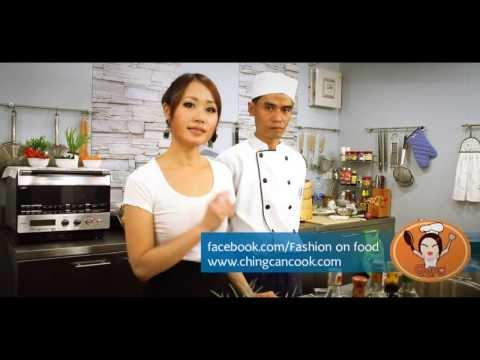 ปลากระพงนึ่งซีอิ้ว สูตรฮองมิน โดย ChingCanCook และเชฟเวศน์