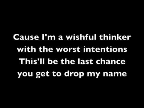 Taking Back Sunday - You're So Last Summer Lyrics