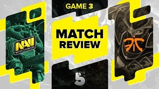 MATCH REVIEW: Na`Vi vs Fnatic - Game 3 @ The Summit 5