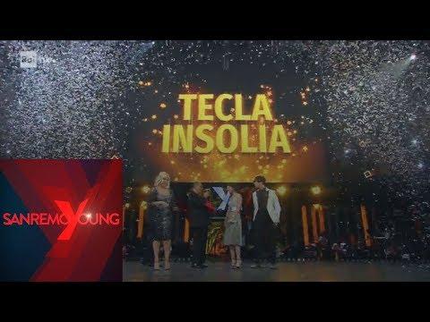 Tecla Insolia vince la finale di SanremoYoung 2019 - Sanremoyoung 15/03/2019