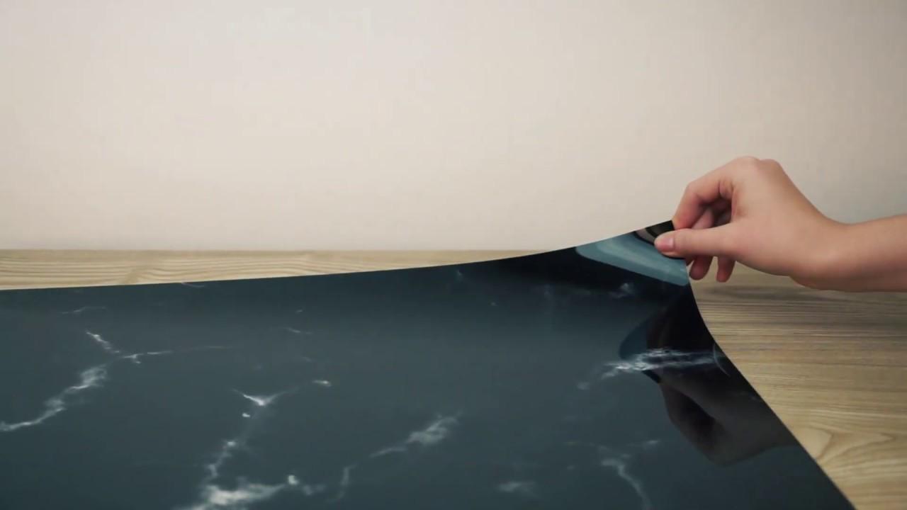 Selbstklebende Kuchenruckwand Fur Jede Kuche In Xxl Bis 4 M Youtube