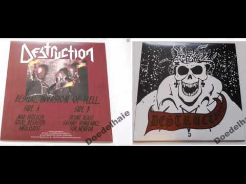 Destruction- Bestial Invasion of Hell 1984 (demo)