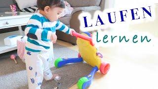 Everyday life: laufen lernen | Familienvlog | Filiz