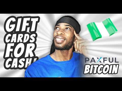 Paxful - How To SELL Bitcoin And GIFT CARDS On Paxful | Buy BITCOIN (2021)