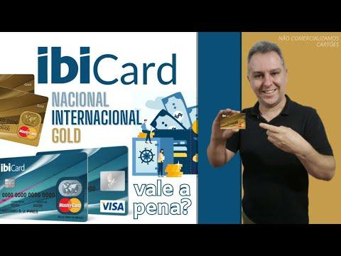 Cartoes De Credito Ibicard Nacional Internacional E Gold