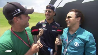 LIVE Brazilian GP: Drivers' parade