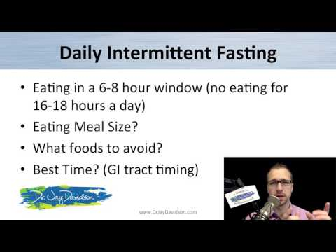 Intermittent Fasting Dr. Jay Davidson