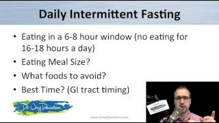 Intermittent Fasting - Dr. Jay Davidson