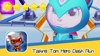 Talking Tom Hero Dash - Run Game Day 117 Walkthrough RACCOON CHASE Recommend index five stars