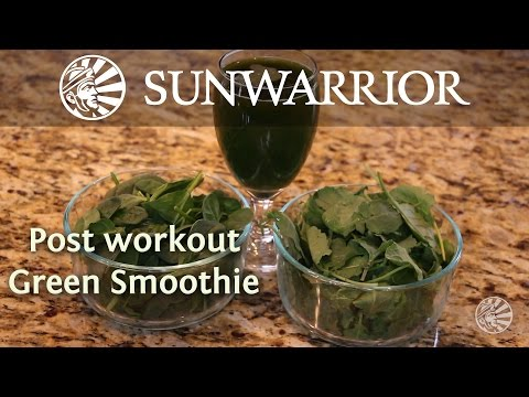 Post-Workout Green Smoothie Recipe | Marzia Prince
