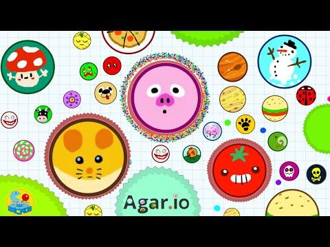 Agar.io Dominating Server Destroying Hackers Eat Them All (Agario Live Stream)