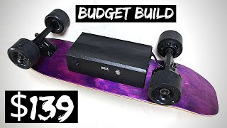 DIY Electric Skateboard Cheap & Easy