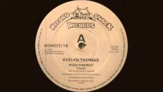 Evelyn Thomas - High Energy (Original Extended Version) Record Shack Records 1984