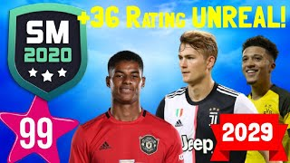 10 YEARS LATER!! FUTURE RATINGS OF THE BEST YOUNG PLAYERS On SM20 Beta | Soccer Manager 2020