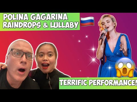 POLINA GAGARINA RAINDROPS & LULLABY | REACTION!❤️🇷🇺
