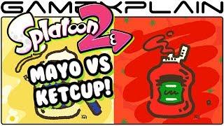1st REAL Splatoon 2 Splatfest Announced! Mayo Vs Ketchup!