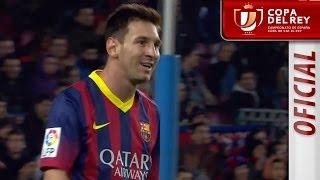 Resumen de FC Barcelona (4-0) Getafe CF - Copa del Rey - HD
